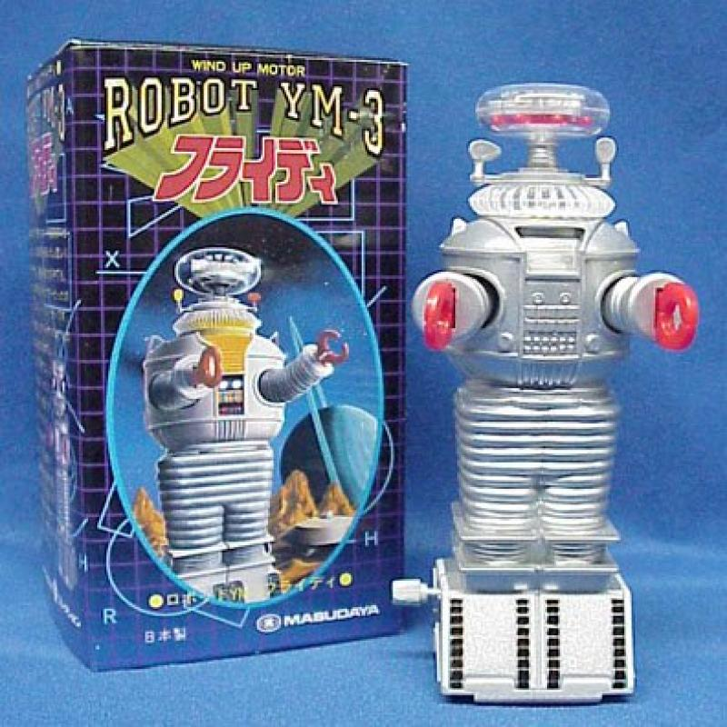 Lost in Space Wind Up Robot YM-3