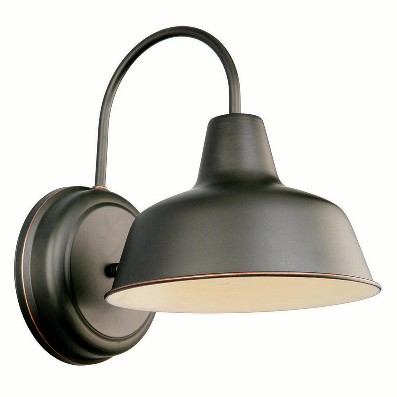 "Design House 519504 Mason 1-Light Indoor/Outdoor Down light 8"", Oil Rubbed Bronze"