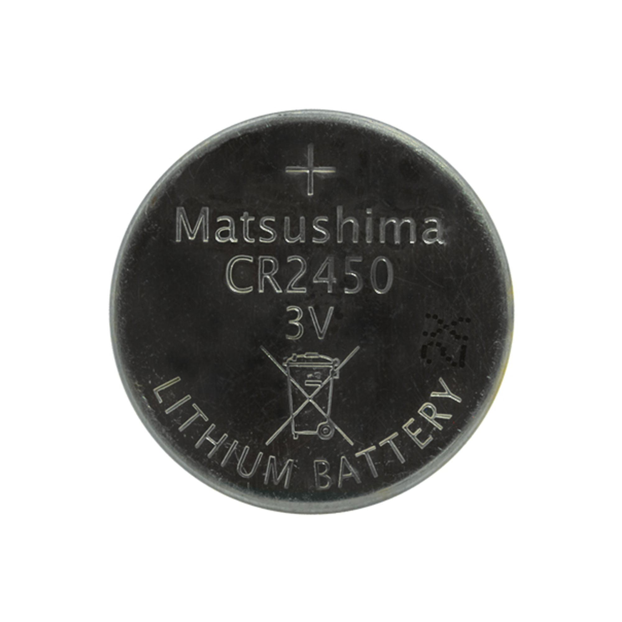 100-Pack CR2450N 3 Volt Lithium Coin Cell Batteries - image 1 de 1
