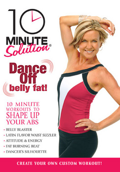 10 Minute Solution: Dance Off Belly Fat (DVD) by ANCHOR BAY HOME ENTERTAINMENT
