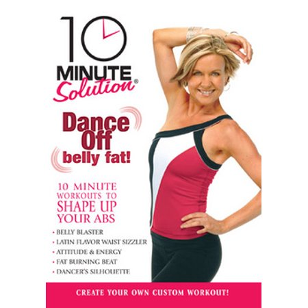 10 Minute Solution: Dance Off Belly Fat (DVD)