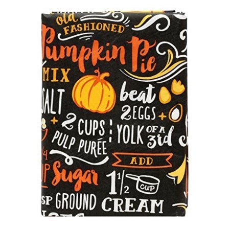 vinyl peva tablecloth chalkboard pumpkin pie recipe 52x70 inches for $<!---->