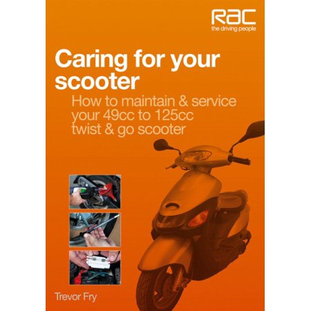 Caring for Your Scooter: How to Maintain & Service Your 49cc to 125cc Twist & Go (Best 49cc Scooter Reviews)