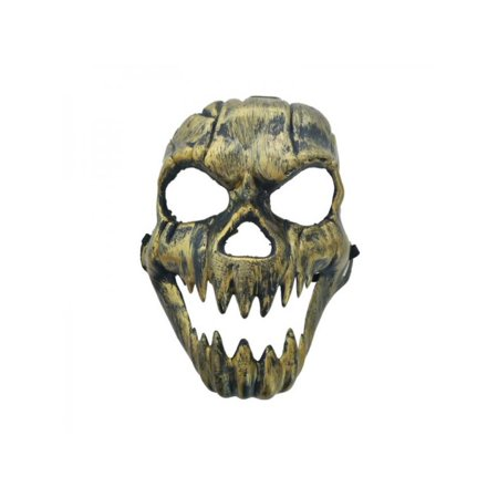 Painted Skull Faces For Halloween (MarinaVida Horror Ghost Face Mask Halloween Skull Masquerade Cosplay)