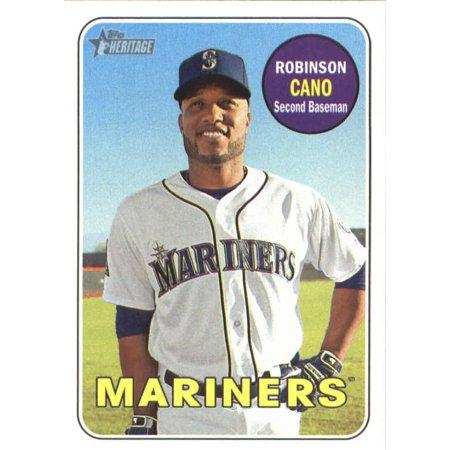 2018 Topps Heritage #301 Robinson Cano Seattle Mariners Baseball Card