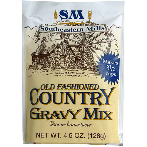 Southeastern Mills Country Gravy Mix, 4.5 oz (Pack of 24)