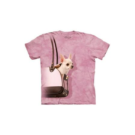 - Handbag Chihuahua Big Boys T-Shirt Tee
