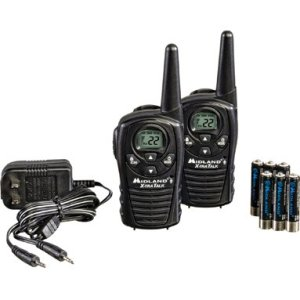 Midland GMRS 2-Way Radio with 22 Channels Value Pack,