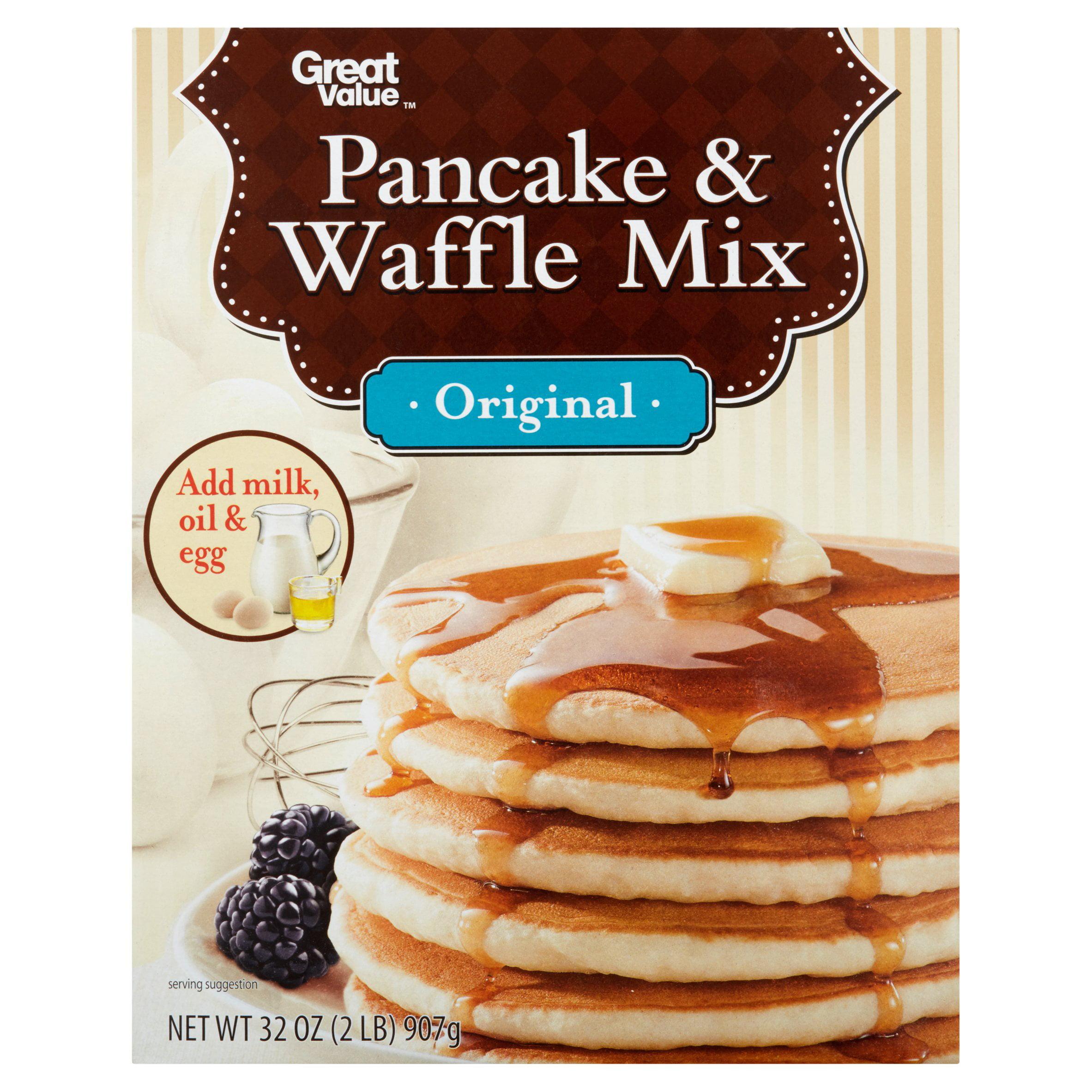 Great Value Original Pancake & Waffle Mix, 32 oz by Wal-Mart Stores, Inc.