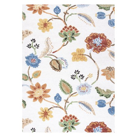 Jaipur Blue Hand-Tufted Garden Party Area Rug