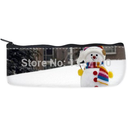 - POPCreation Winter Snowman School Pencil Case Pencil Bag Zipper Organizer Bag