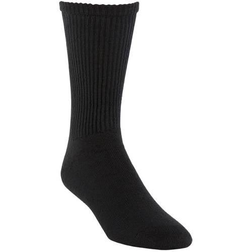 Gildan Mens Crew Socks 10-pack