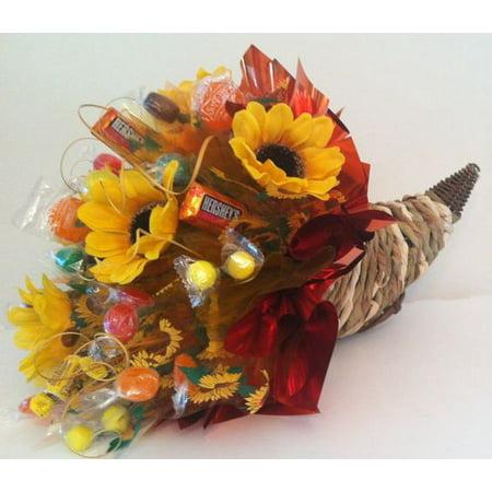 Fall Harvest Candy Bouquet (Halloween Candy Bouquet)