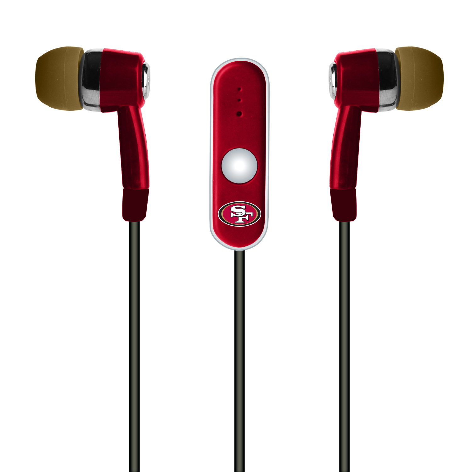 NFL Indianapolis Colts Hands Free Ear Buds with Microphone
