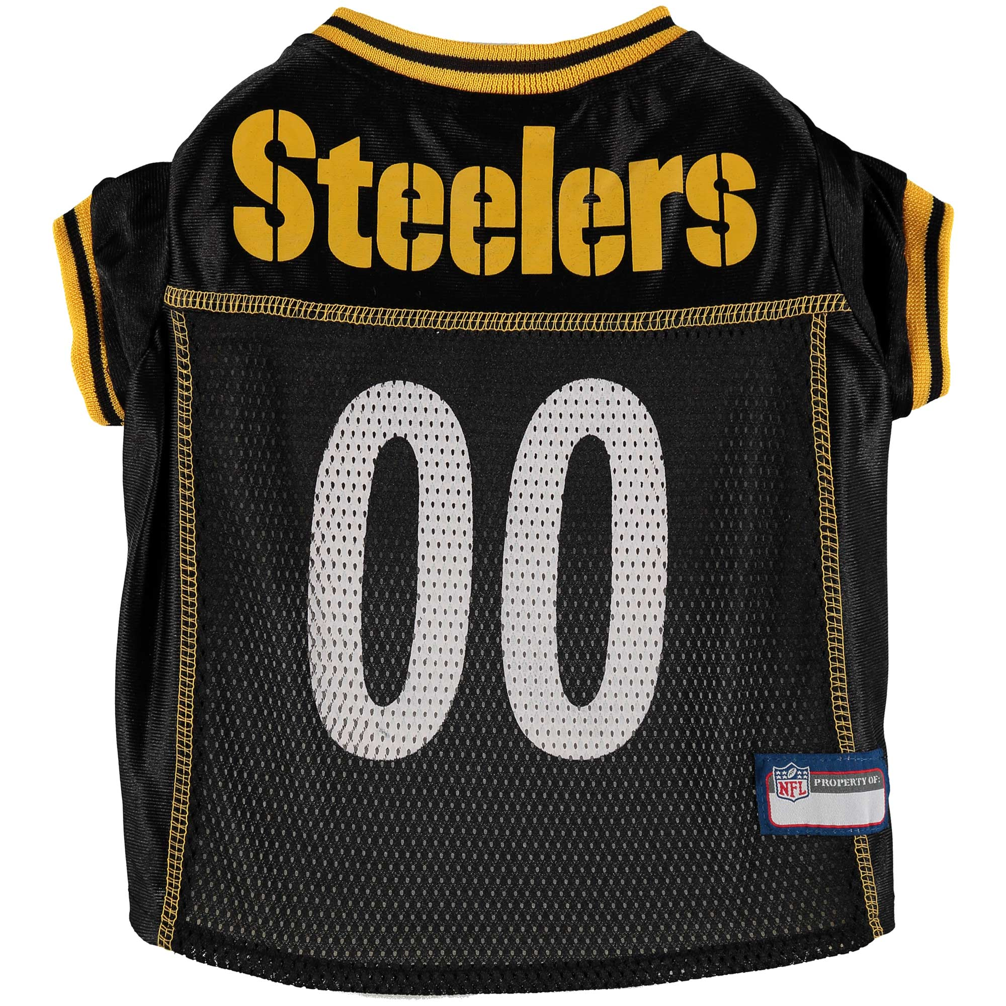 Pittsburgh Steelers Mesh Dog Jersey