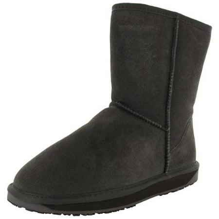 Booroo Womens Eva Suede Merino Wool Winter Snow Boot Shoe