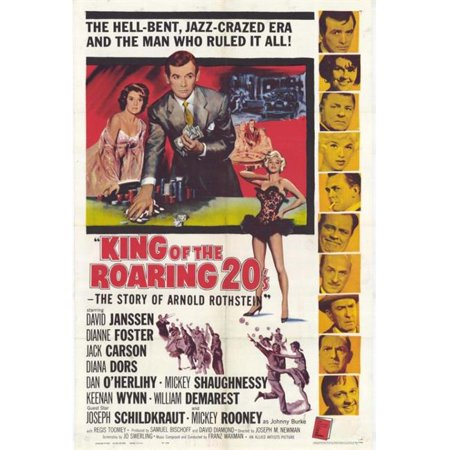 Posterazzi MOVIH6198 The King of the Roaring 20S-The Story of Arnold Rothstein Movie Poster - 27 x 40 in. - image 1 de 1