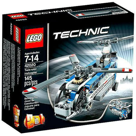lego technic twin rotor helicopter. Black Bedroom Furniture Sets. Home Design Ideas