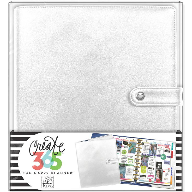 Create 365 Big Deluxe Cover Planner-silver