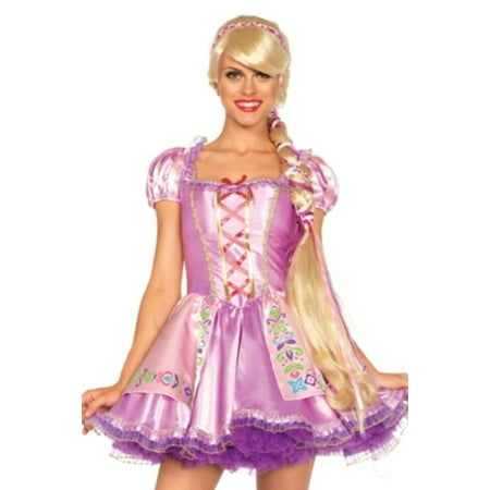 Leg Avenue Women's Rapunzel Wig, Blond, One Size](Rapunzel Costume And Wig)