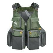 MMYsport Outdoor Sport Fishing Life Vest Adult Multi-pocket Hunting Swimming Jacket