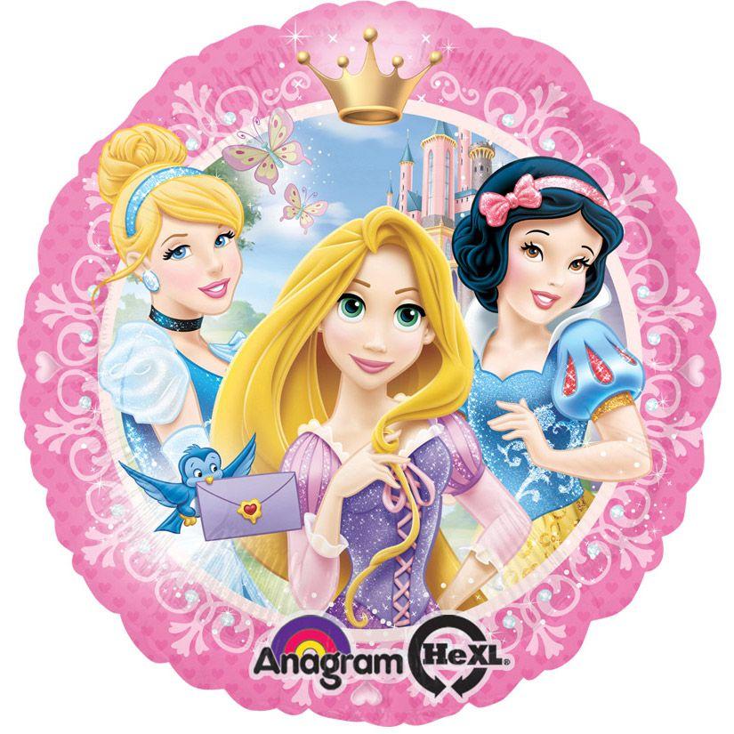 """Disney Princess 18"""" Balloon (Each) - Party Supplies"""