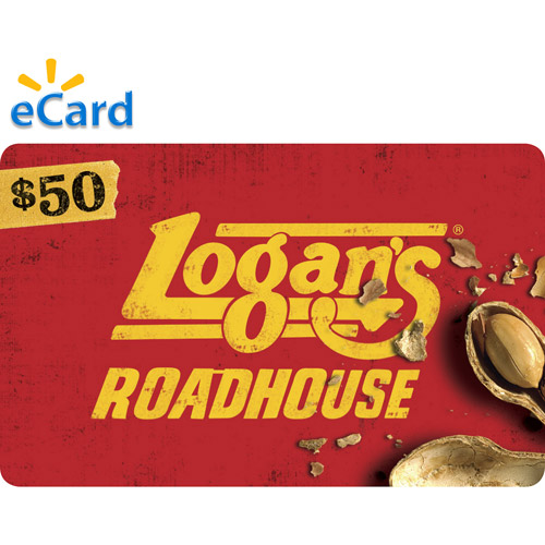 (Email Delivery) Logan's Roadhouse $50 eGift Card