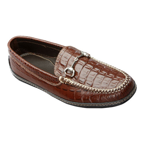 David Spencer Men's Croco Horse Bit Driver by David Spencer