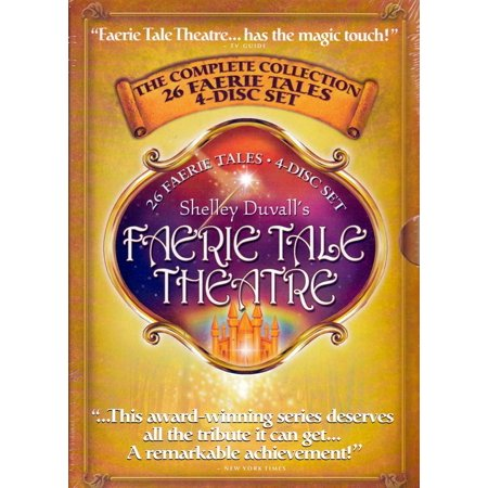 Duvall Collection - Shelley Duvall's Faerie Tale Theatre - The complete Collection -  4 DVD Disc Set