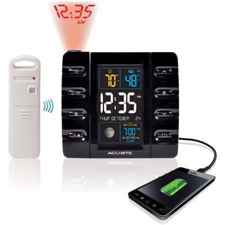Image of AcuRite Projection Alarm Clock