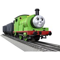 Lionel O Gauge Thomas & Friends Percy Electric Model Train Set with Remote and Bluetooth Capability