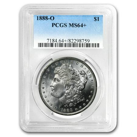 1888-O Morgan Dollar MS-64+ PCGS (1880 O Morgan Silver Dollar Coins)