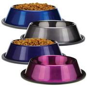 Proselect Duragloss Metallic Ss Bowl 8oz Blu