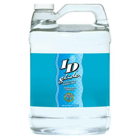 ID Glide Water Based Lubricant - 128 oz (1 Gallon) Id Glide Lubricant