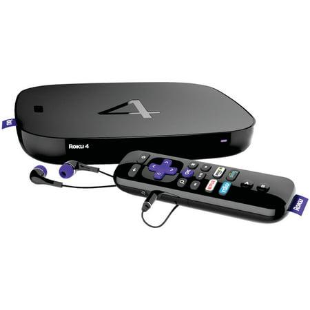 Roku 4400XB Refurbished Streaming 4K UHD Media Player