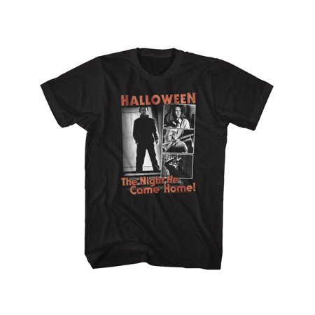 Halloween Scary Horror Slasher Movie Franchise Film The Night Adult T-Shirt Tee](Scary Family Films Halloween)