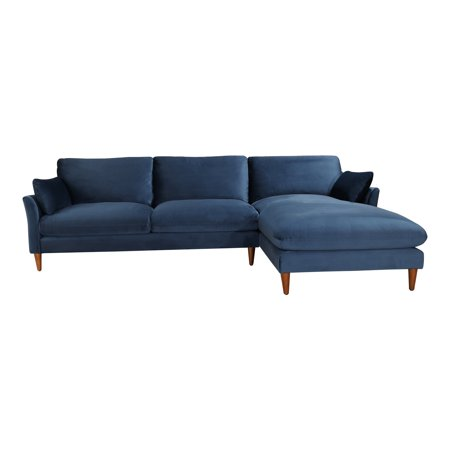 Outstanding Moes Home Collection Rn 1099 Suma 110 Inch Wide Wood Framed Polyester Sectional Walmart Com Pabps2019 Chair Design Images Pabps2019Com