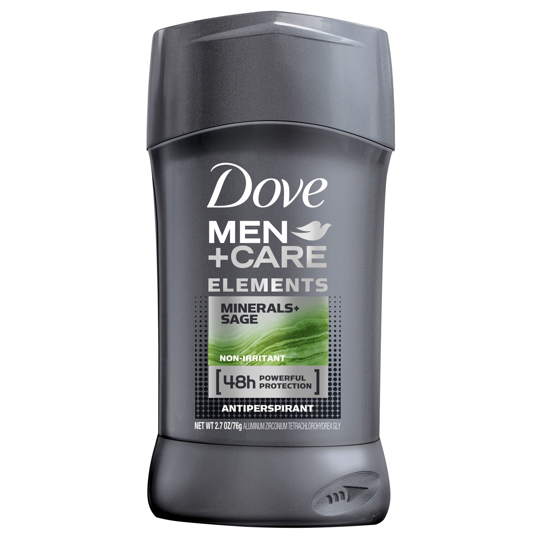 Dove Men+Care Elements Antiperspirant Deodorant Stick Minerals + Sage 2.7 oz