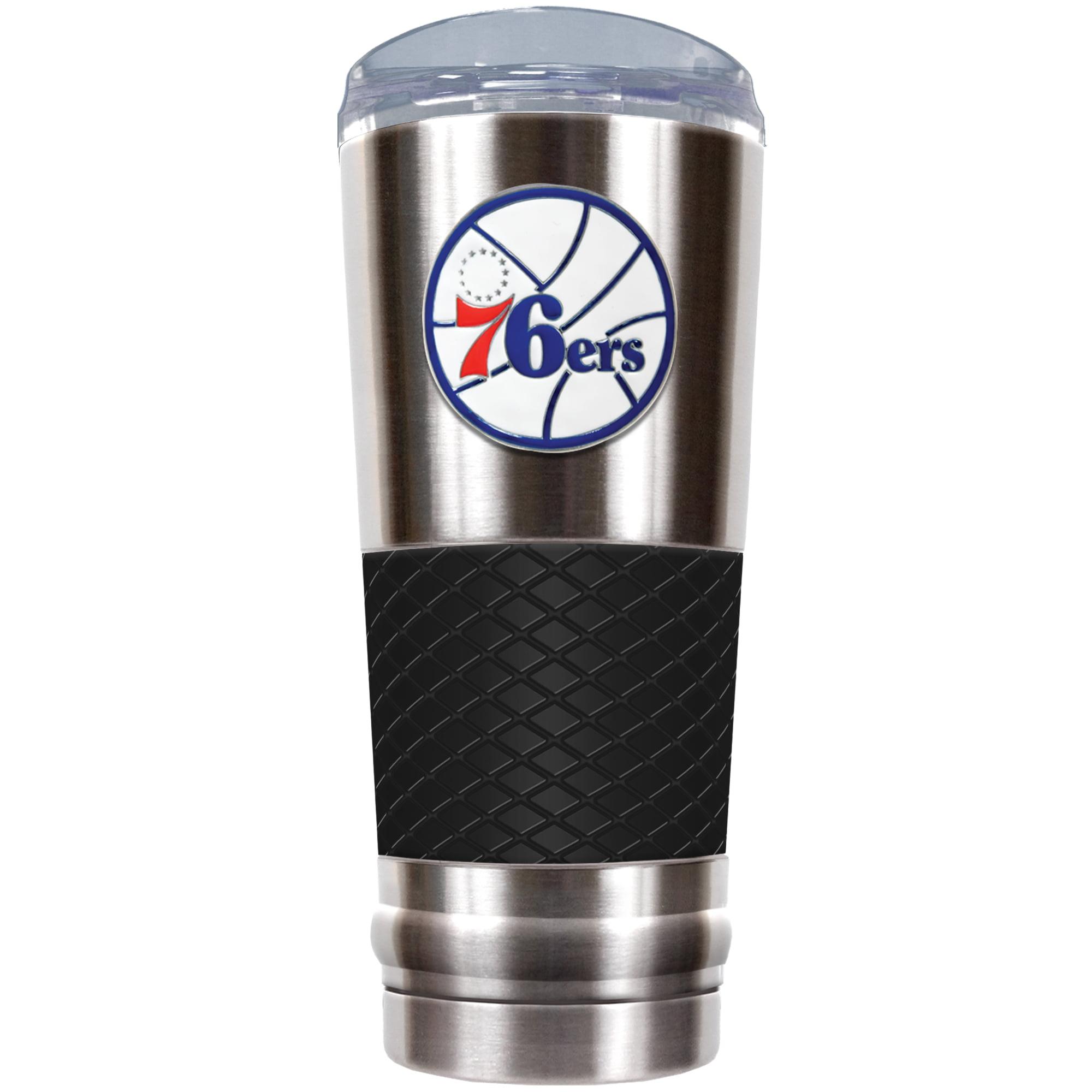 Philadelphia 76ers 24oz. Draft Tumbler - Black - No Size