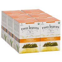 Two Leaves and a Bud, Inc., Organic Energize Green Tea for Endurance, 15 Count
