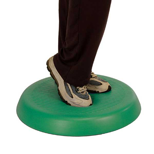 CanDo Aerobic Balance Disc and Abitations Pad, 20 Inch Diameter
