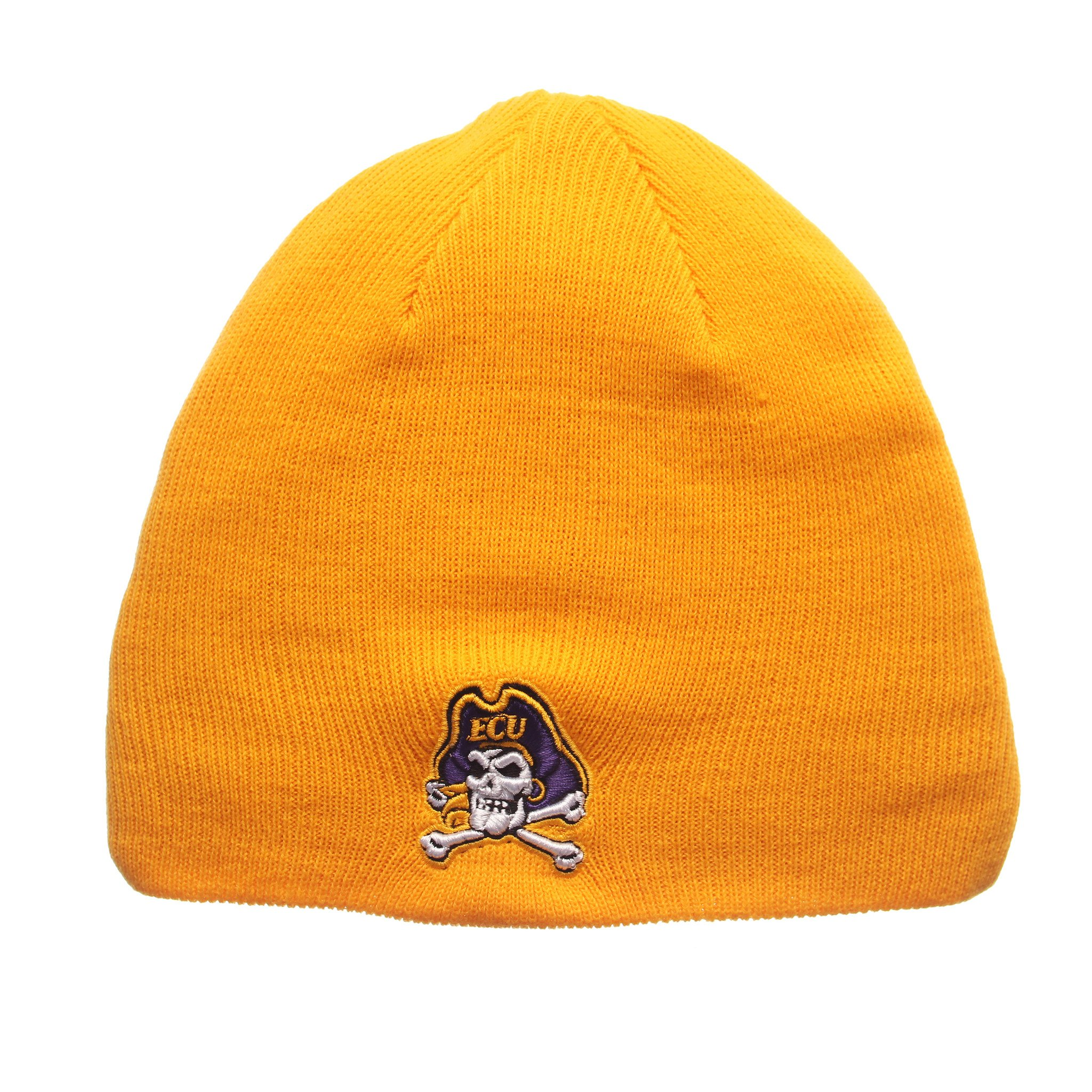 East Carolina Pirates Official NCAA Edge Adjustable Beanie Knit Sock Hat by Zephyr 267028