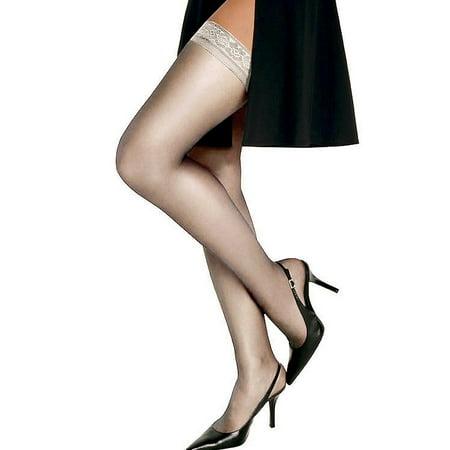 Hanes Silk Reflections Silky Sheer Thigh High -