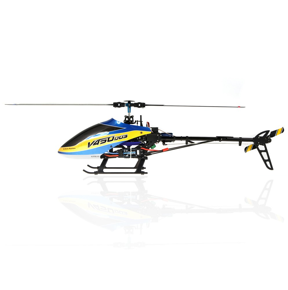 Walkera V450D03 6CH 450 RC FBL Helicopter Without Transmitter BNF by