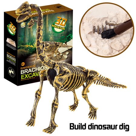 Dinosaur Educational Toys (Tuscom Dinosaur Toys Science Educational Dig Kit, Dinosaur Fossil Excavation)