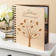 Personalized Family Tree Wood Photo Album