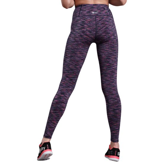 838936e1344b4e The leggings have flatlock seams, and finished with a Superdry Sports logo  printed down one side in a super reflective finish. Superdry Women's SD  Sport ...