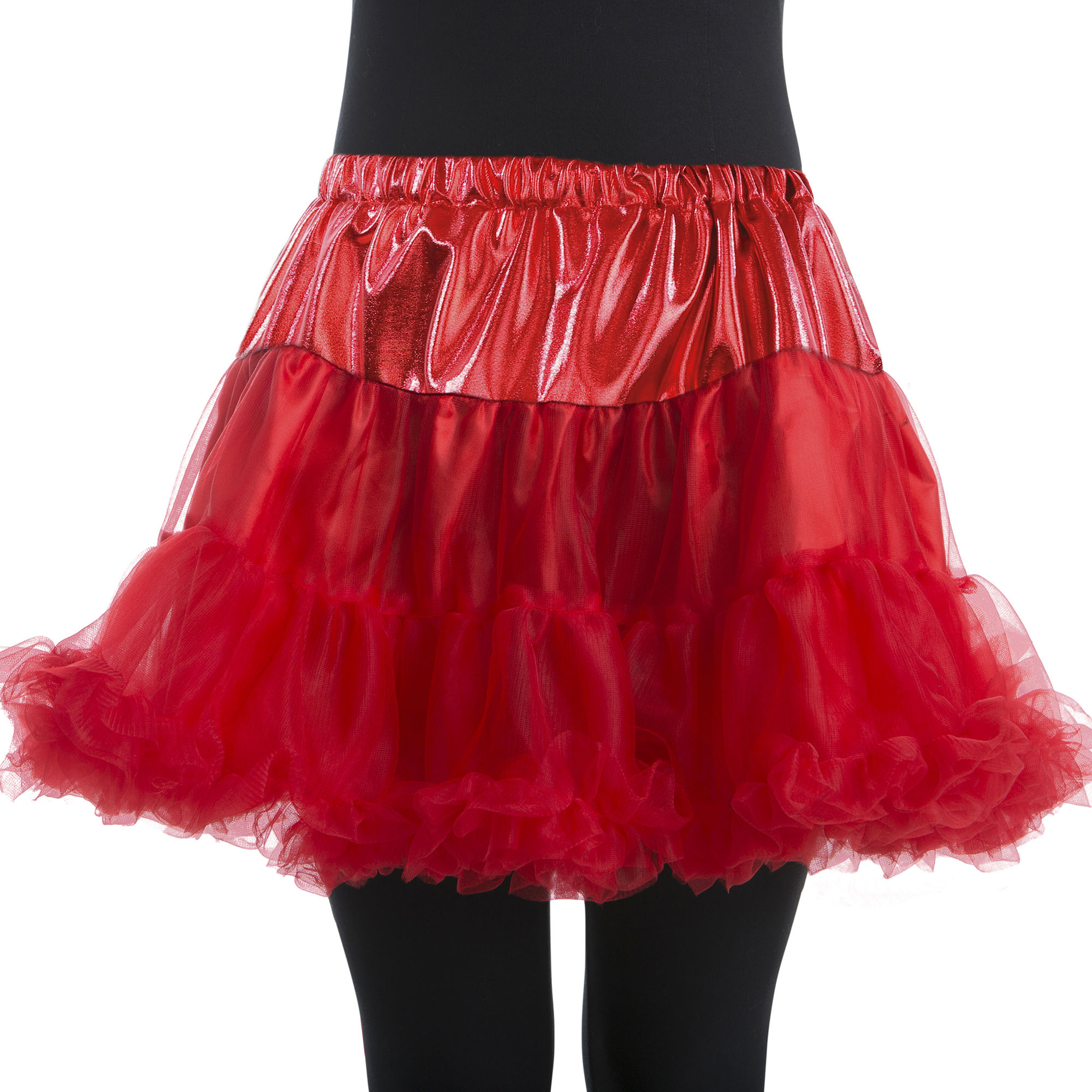 Woman Red Petticoat Large/Plus Halloween Dress Up / Costume Accessory