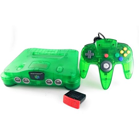 Jungle Green Nintendo 64 Console System- N64 (Refurbished)