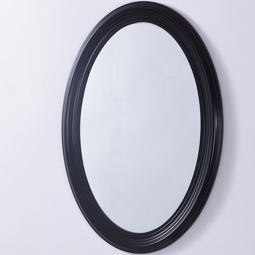 Bellaterra Home Oval PVC Frame Wall Mirror